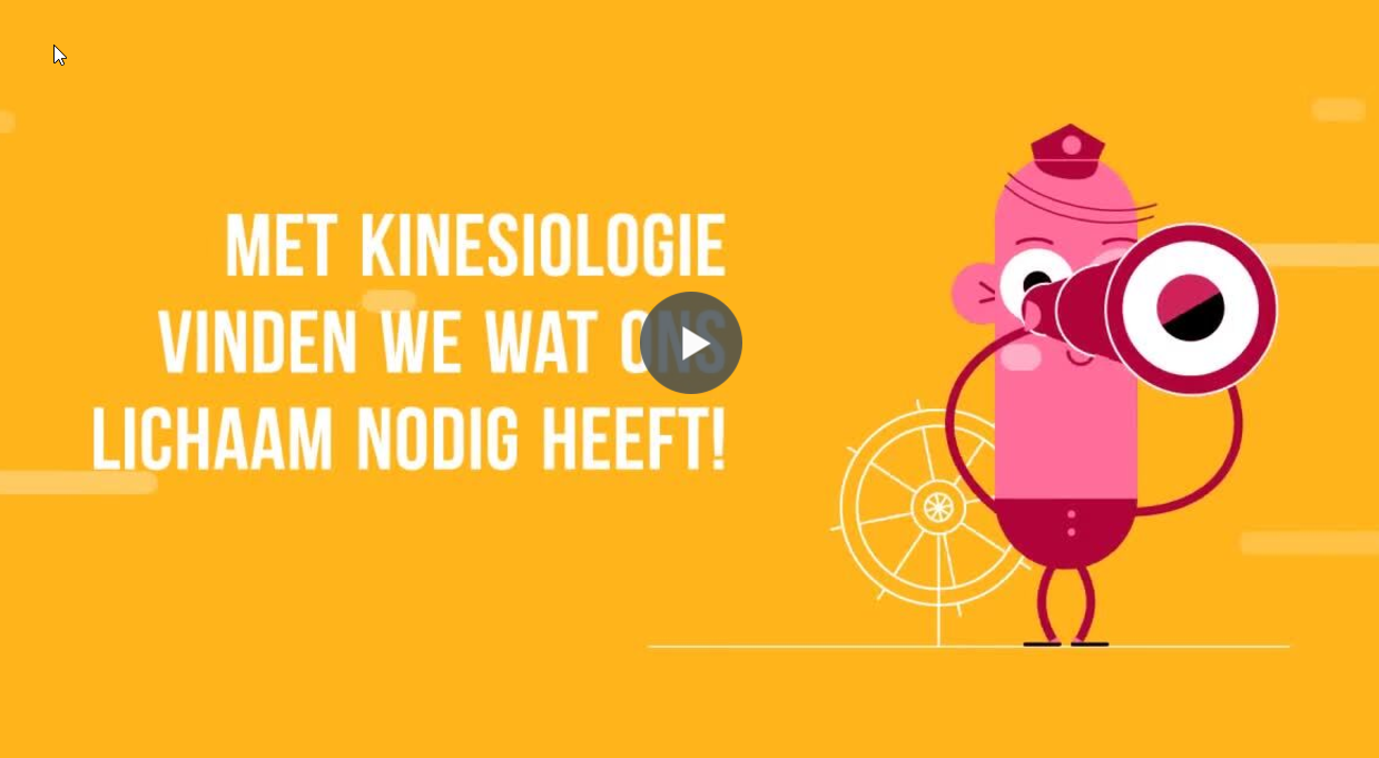 gele filmpje NL kinesiologie